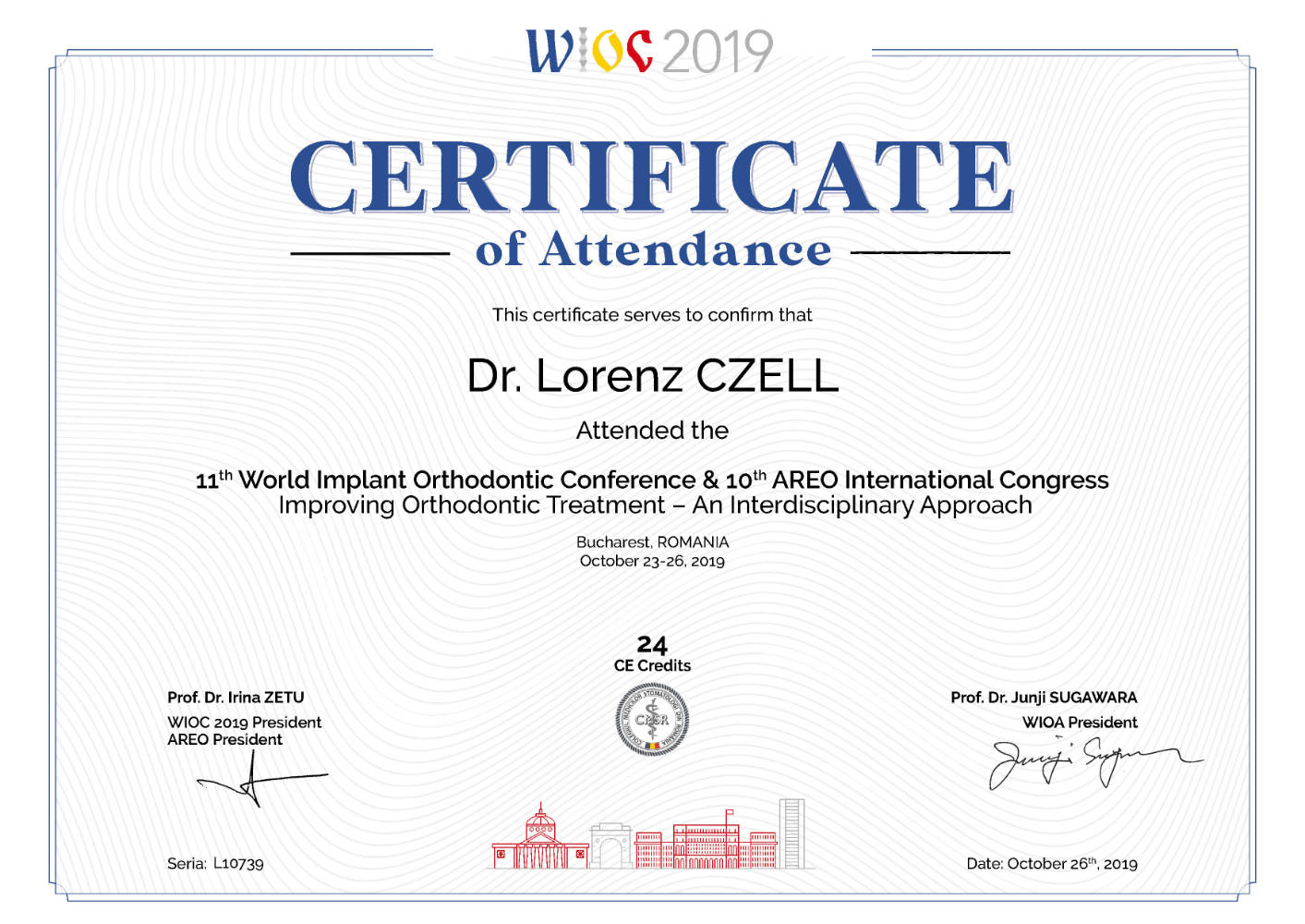 2019 10 23 26 WIOC World Implant Orthodontic Conference
